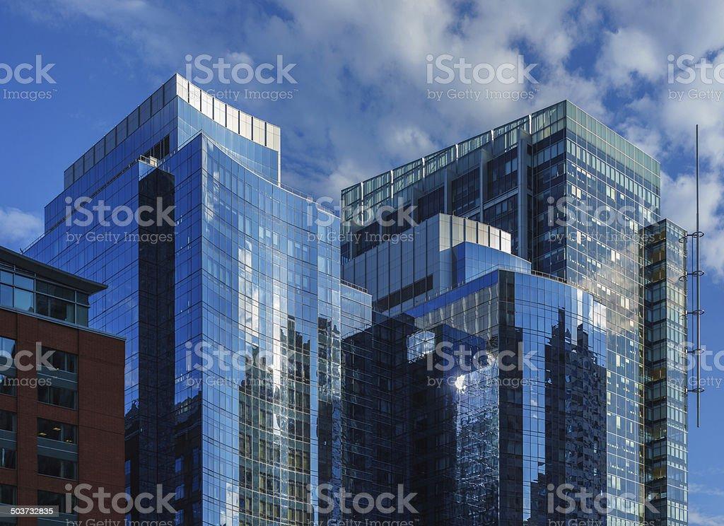 corporate boston stock photo