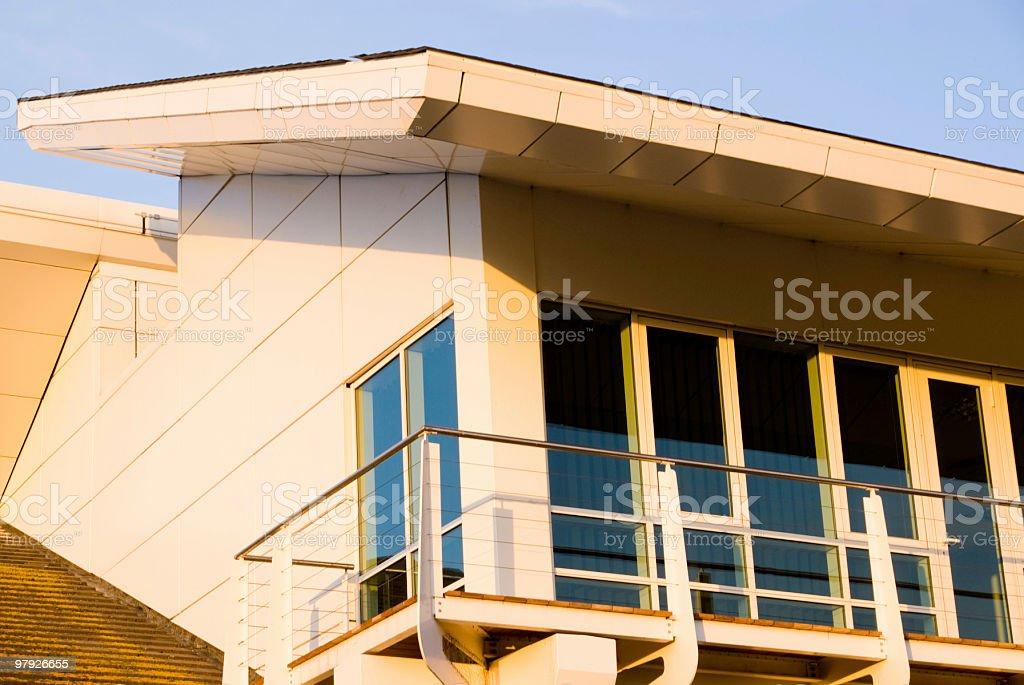 Corporate building facade royalty-free stock photo