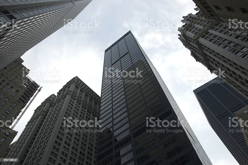 corporate building new york city royalty-free stock photo