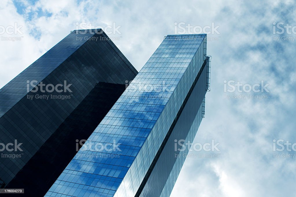 Corporate building royalty-free stock photo