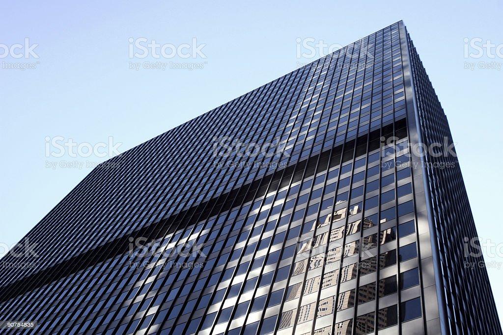 corporate building (original) royalty-free stock photo
