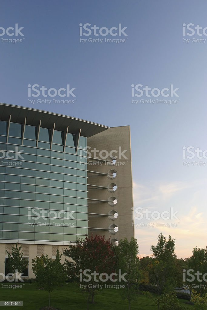 Corporate Building #1 royalty-free stock photo
