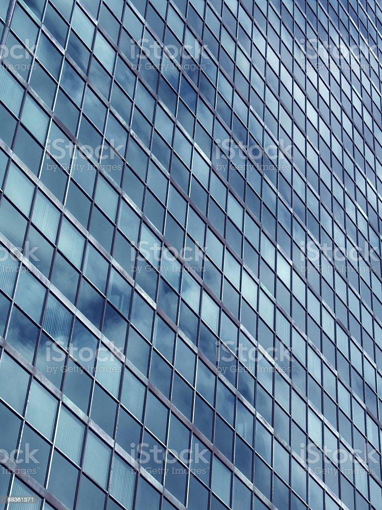 Corporate building windows royalty free stockfoto