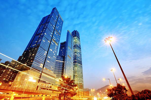 Corporate Buildings stock photo