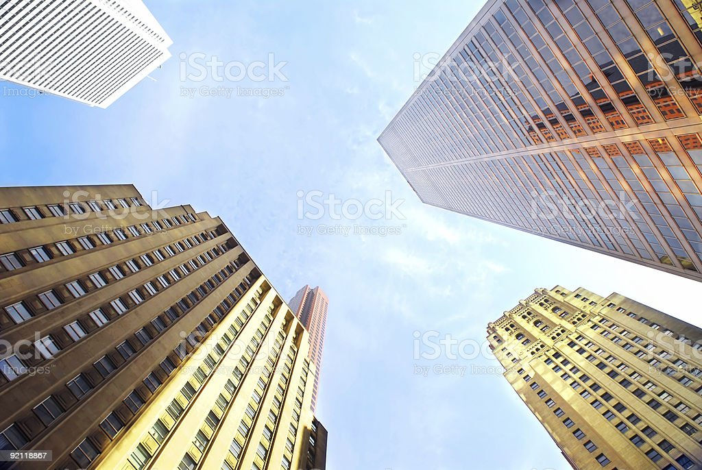 Corporate buildings royalty-free stock photo