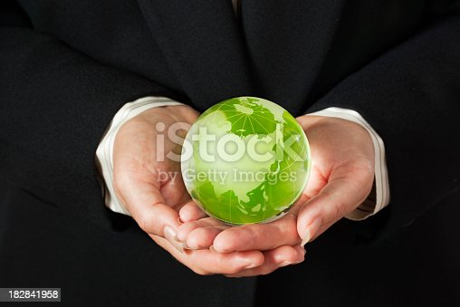 638813890istockphoto Corporate Business Hands Holding Earth Friendly Green World Globe—Asia 182841958