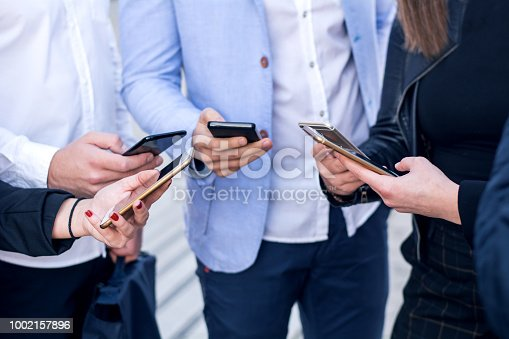 istock Corporate business networking 1002157896