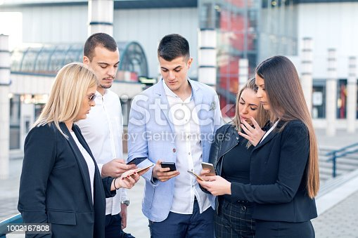 istock Corporate business networking 1002167808