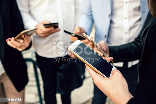 istock Corporate business networking 1046404288