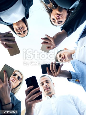 istock Corporate business networking 1046407524