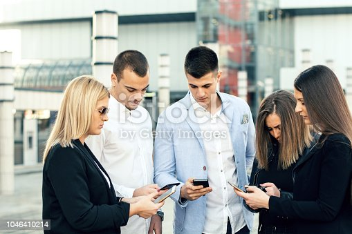 istock Corporate business networking 1046410214