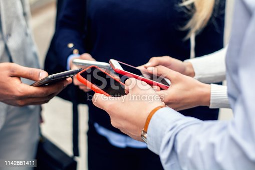 istock Corporate business networking 1142881411