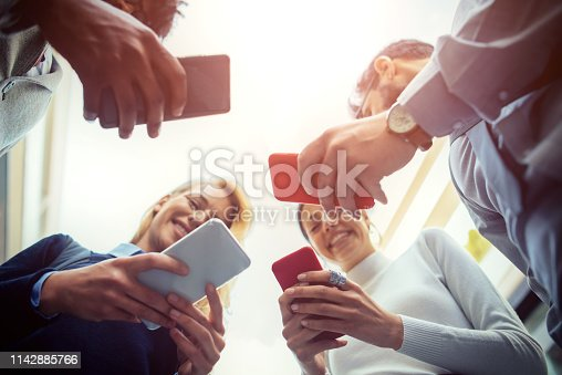 istock Corporate business networking 1142885766
