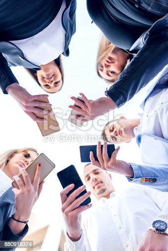 istock Corporate business networking 880918374