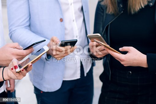 istock Corporate business networking 896154520