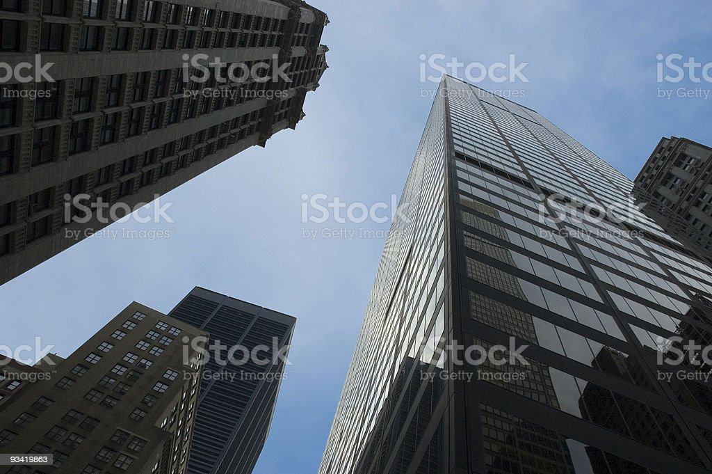 corporate business tower royalty-free stock photo