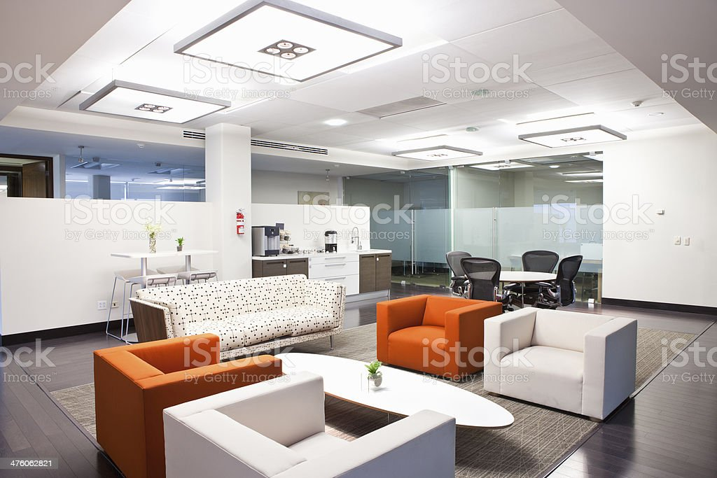 Corporate Cafeteria stock photo