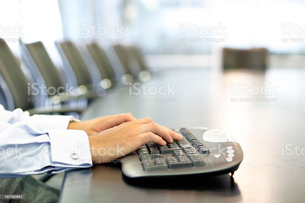 Corporate communication royalty-free stock photo