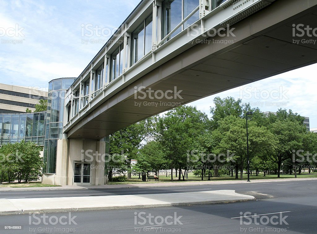 corporate commute royalty-free stock photo
