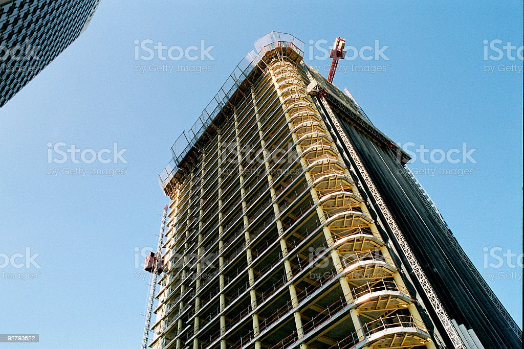 Corporate Construction Site royalty-free stock photo
