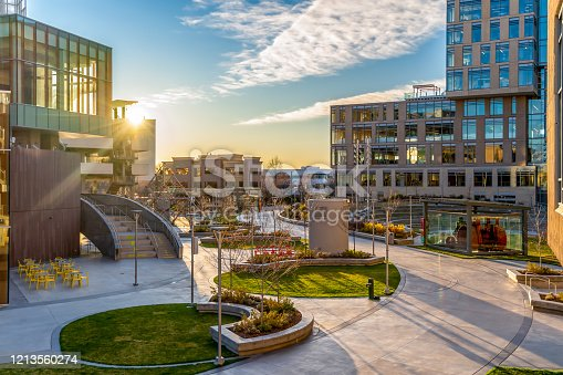 Downtown office buildings - Boise