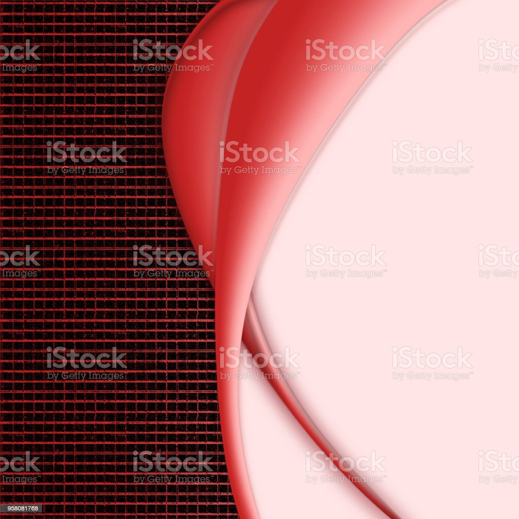 Corporate creative background with curves and place for text stock photo