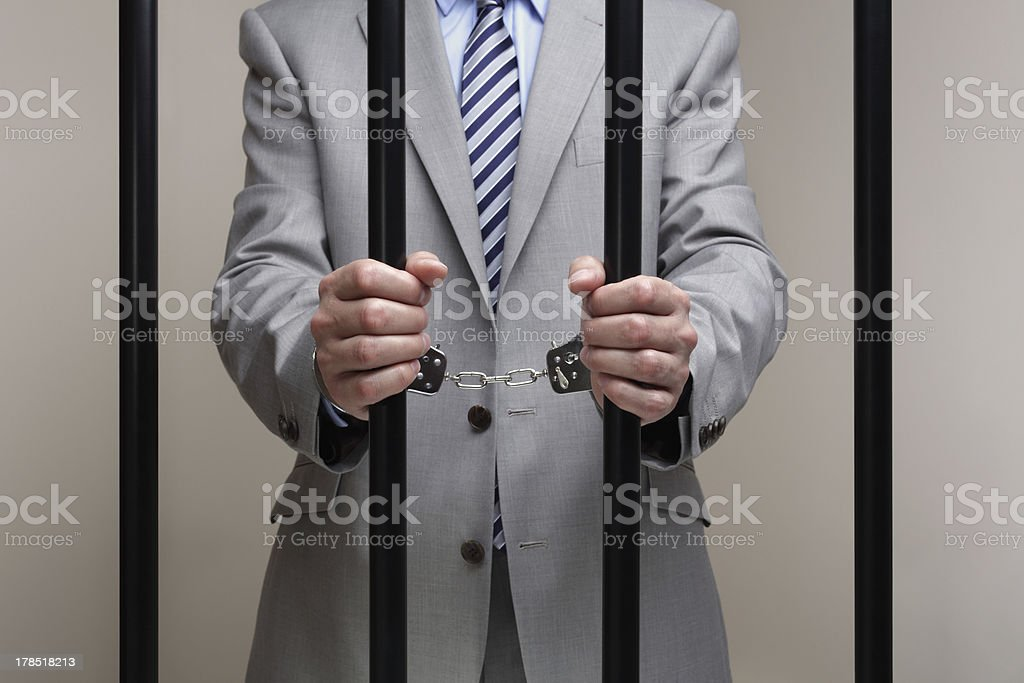 Corporate crime stock photo