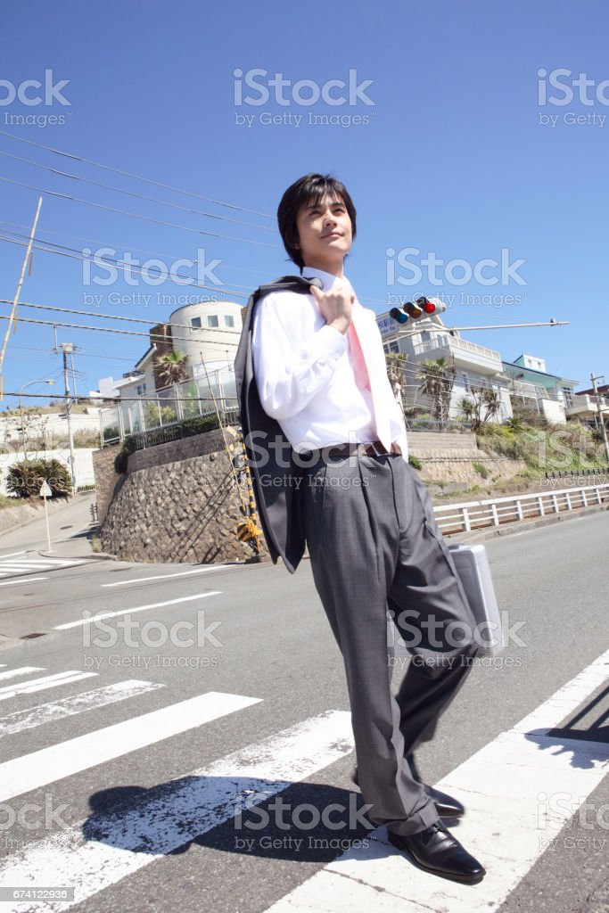 Corporate crossing royalty-free stock photo
