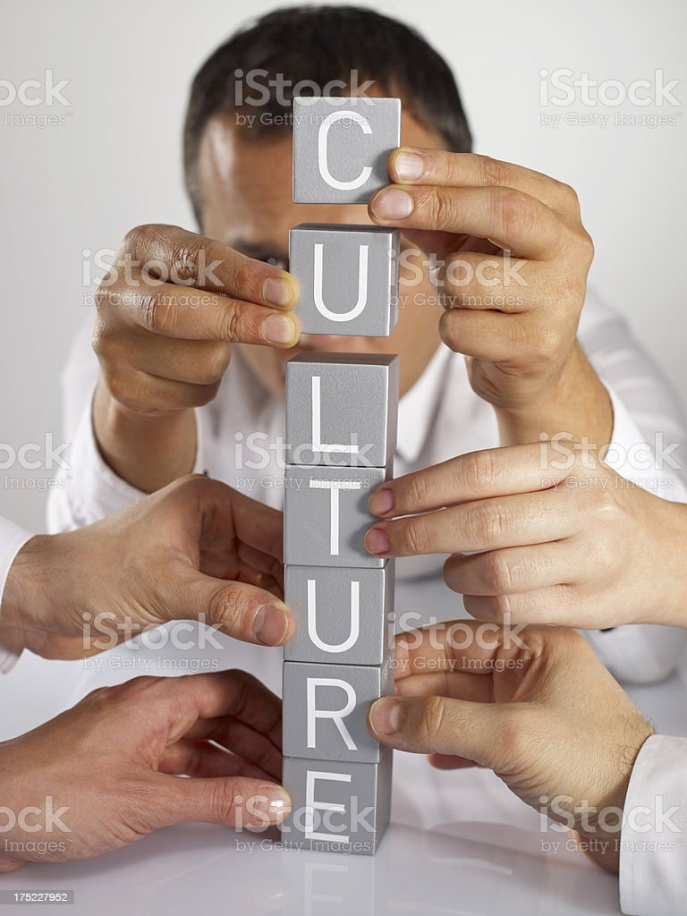 Corporate Culture royalty-free stock photo
