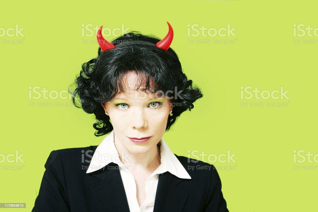 Corporate Demon royalty-free stock photo