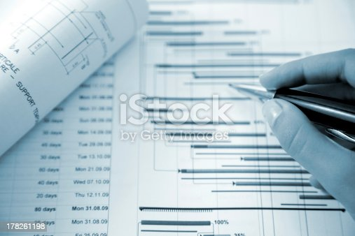 614338352 istock photo Corporate employee whom works in project design  178261198