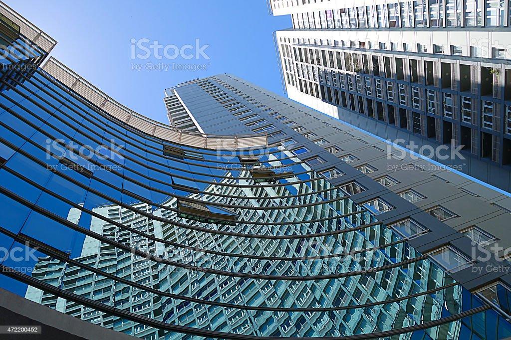 Corporate exterior in Buenos Aires, Argentina stock photo
