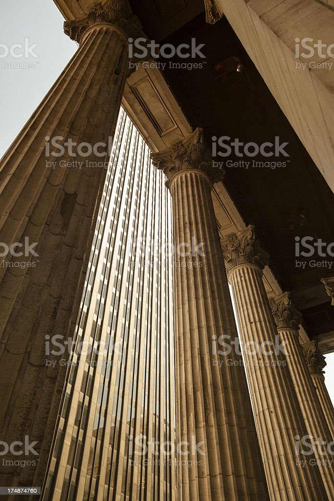 Corporate finance buildings stock photo