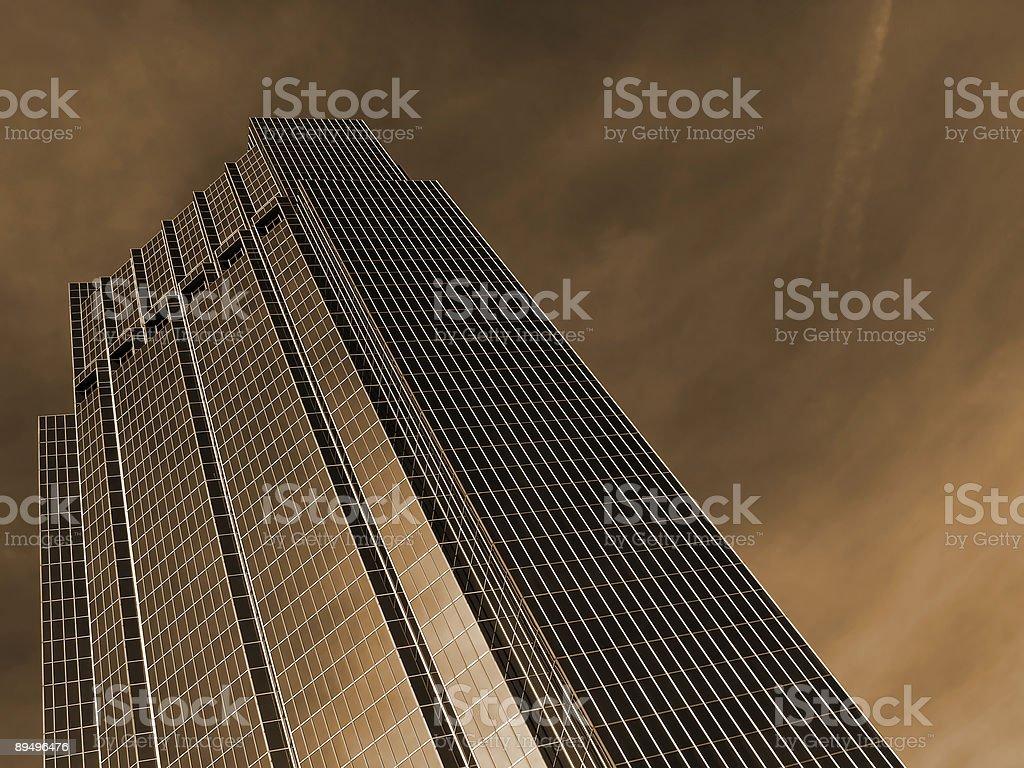 Fortezza aziendale foto stock royalty-free