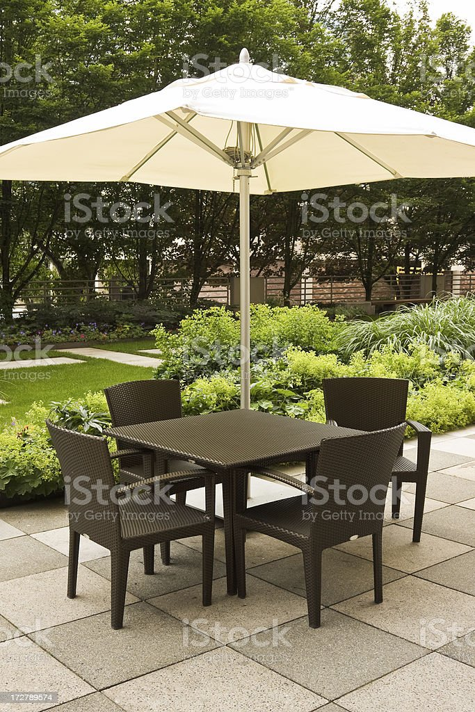 Corporate garden royalty-free stock photo