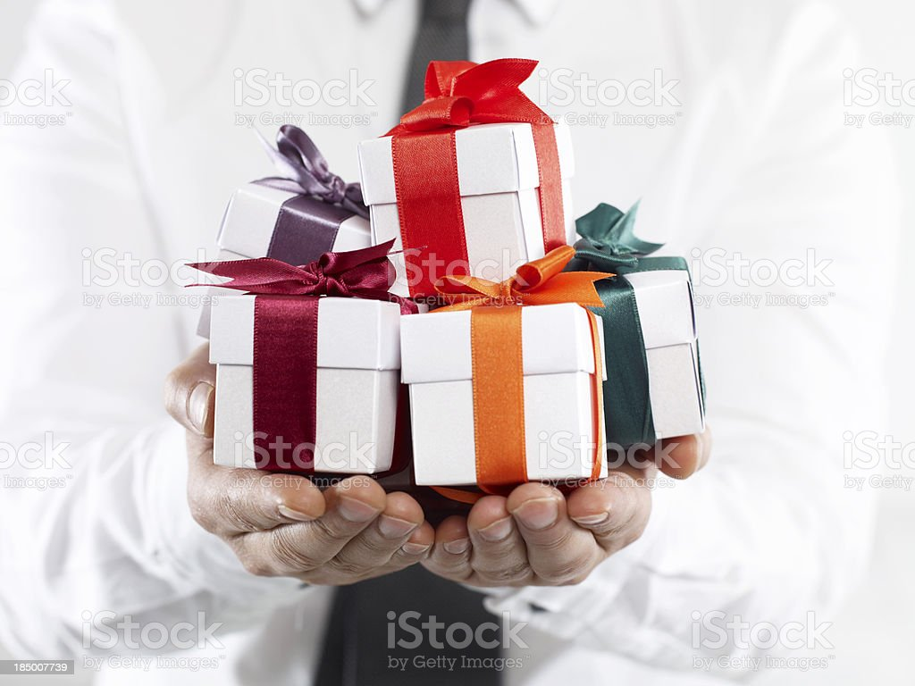 Corporate Gifts stock photo