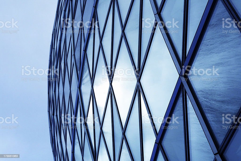 Corporate Glass building royalty-free stock photo