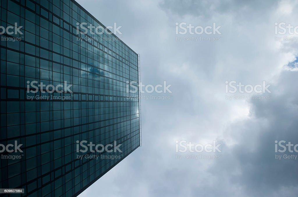 Corporate glass skyscraper stock photo
