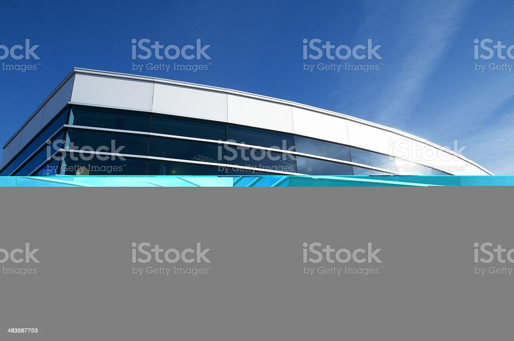 Corporate Headquarters Building royalty-free stock photo