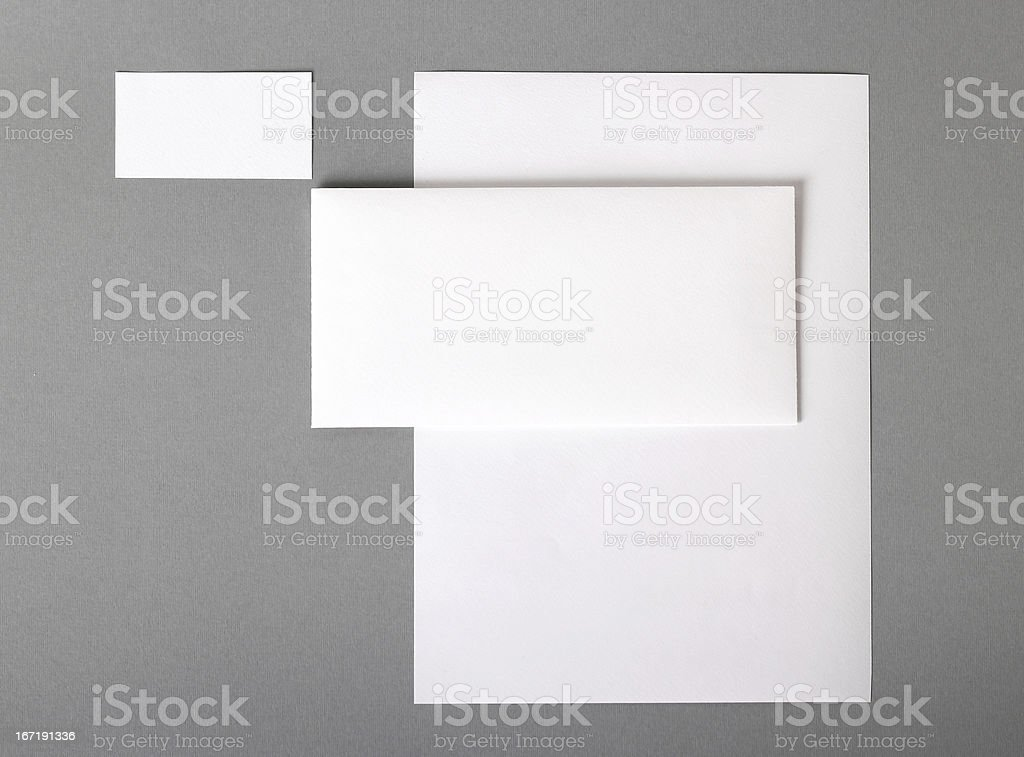 Corporate identity royalty-free stock photo