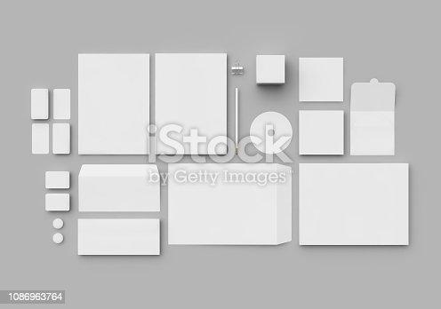 istock Corporate Identity Set 1086963764
