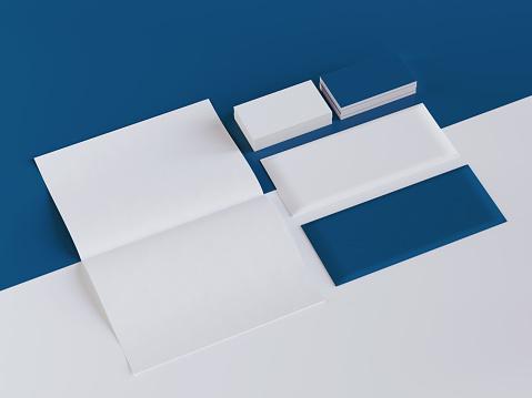 Business card, Mockup, Letterhead, Envelope, Letter - Document,