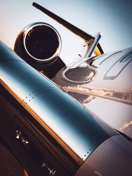 Corporate Jet stock photo