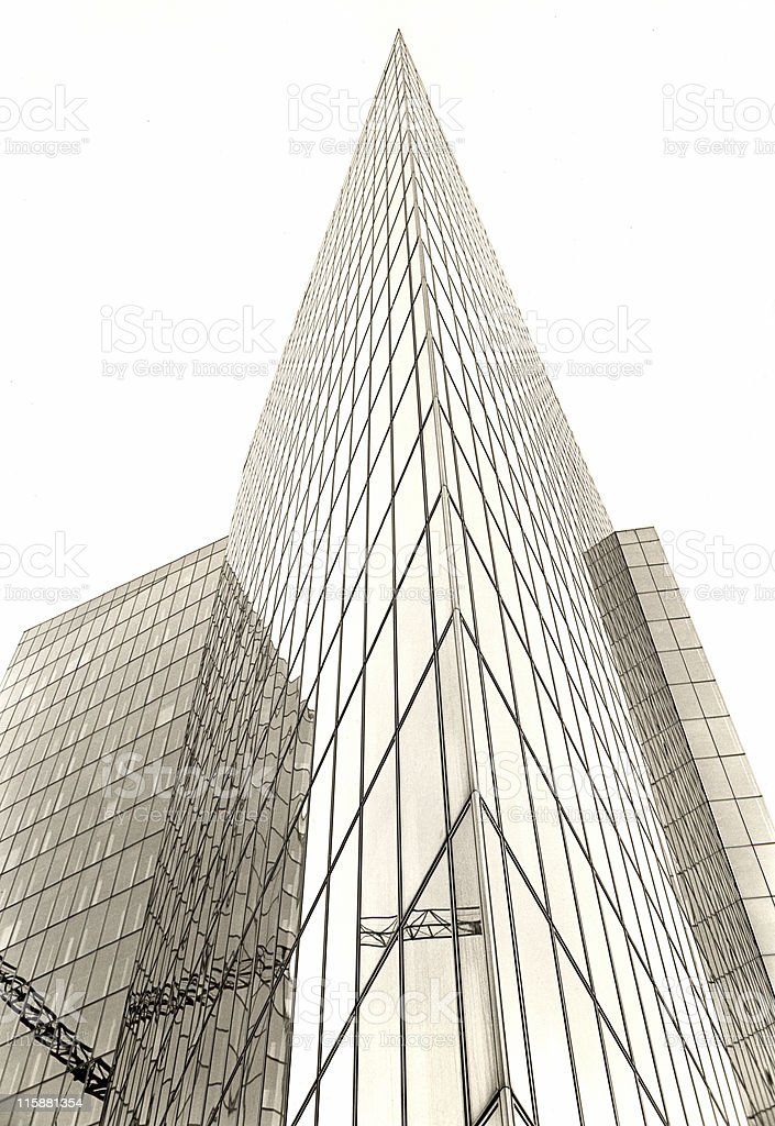 Corporate La Defense royalty-free stock photo