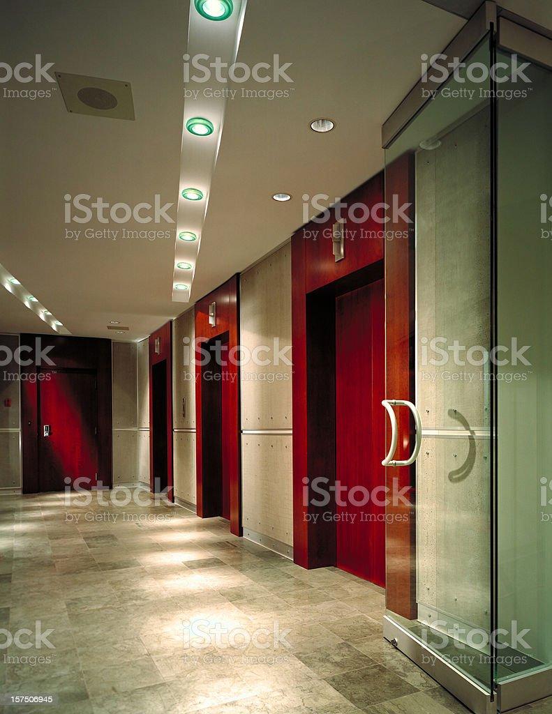 Corporate Lobby royalty-free stock photo