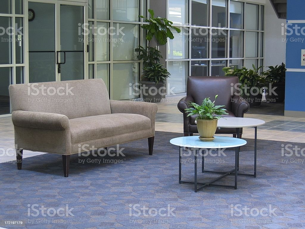 Corporate Lobby stock photo