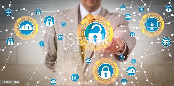488497362istockphoto Corporate Manager Meeting Data Security Regulations 903456766