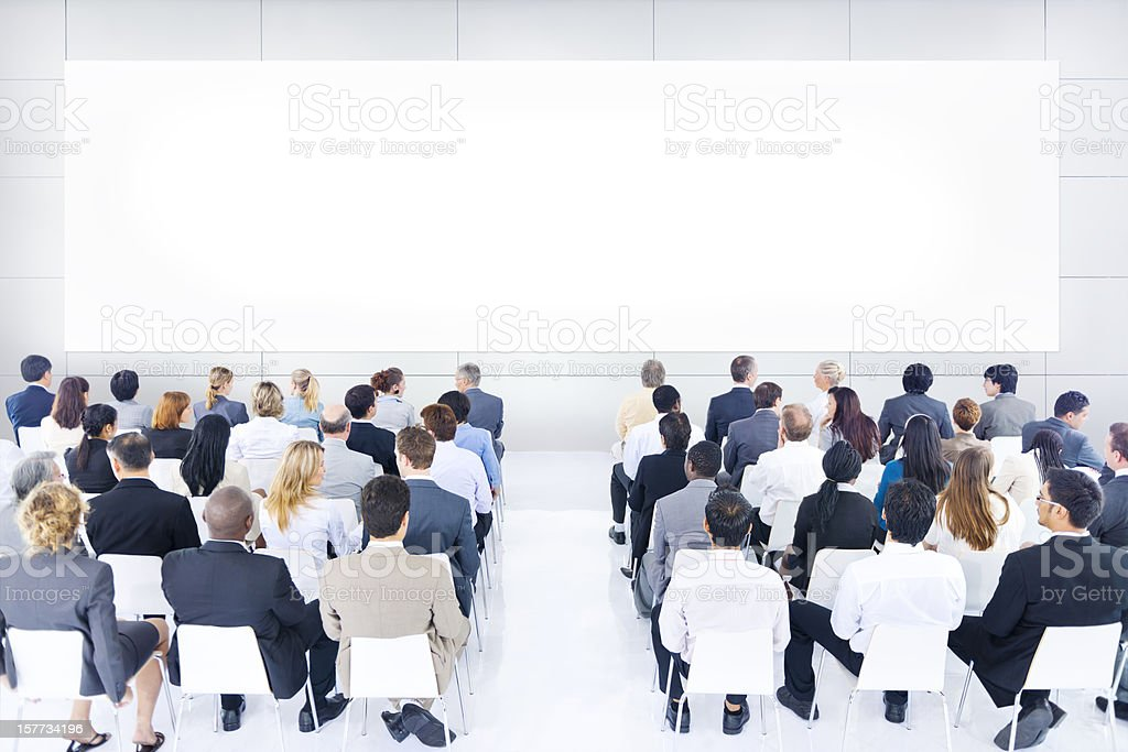 Corporate Meeting royalty-free stock photo