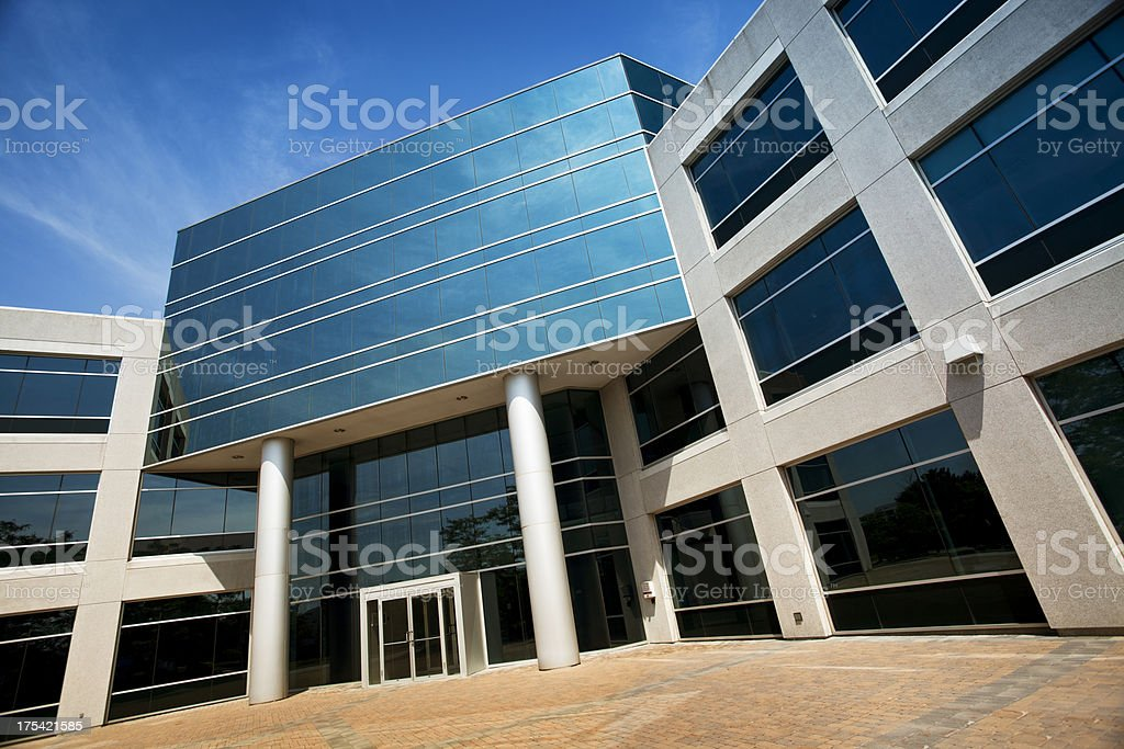 Corporate modern office royalty-free stock photo