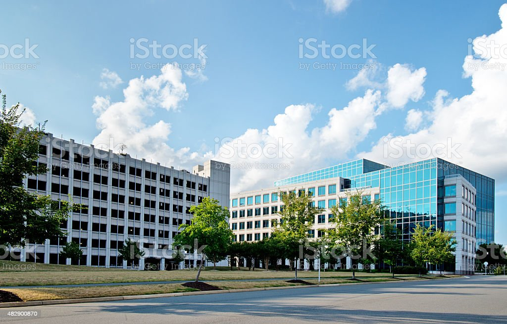 Corporate Office Building stock photo